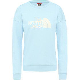 The North Face Drew Peak Crew Trui Dames, angel falls blu